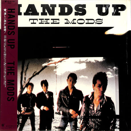 THE MODS / HANDS UP(LPレコード)