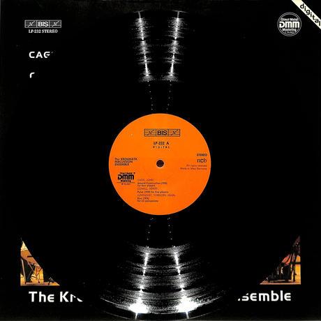クロウマタ・パーカッション・アンサンブル / ジョン・ケージ:セカンド・コンストラクション(1983 W.GERMANY ORIGINAL DMM,LP232)(長岡鉄男の外盤A級)(LPレコード)
