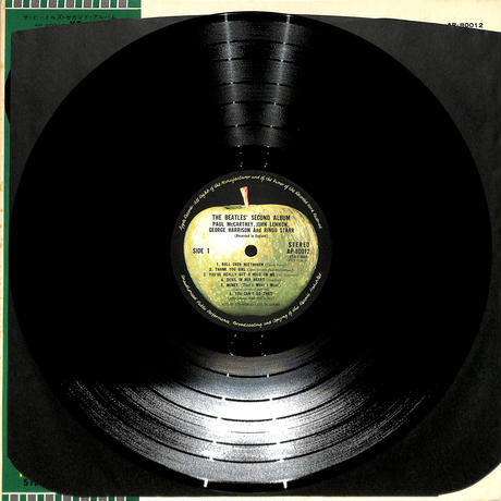 ビートルズ / セカンド・アルバム(LPレコード)