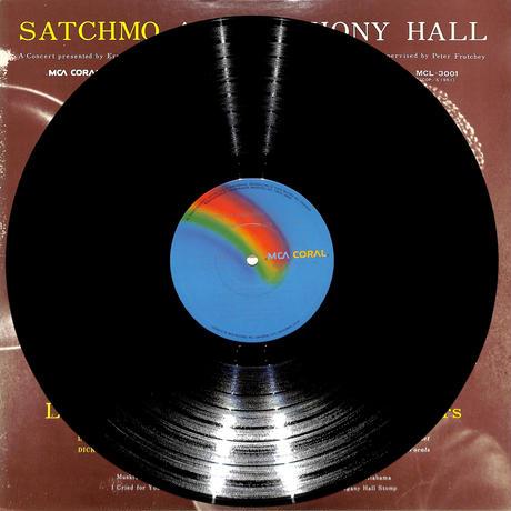 ルイ・アームストロング Louis Armstrong / サッチモ・アット・シンフォニー・ホール・VOL.1