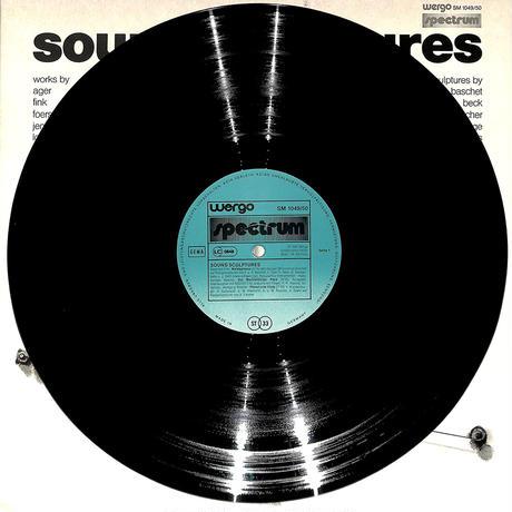 サウンド・スカルプチャー 音の彫刻(W.GERMANY WERGO ORIGINAL,SM1049/50)(長岡鉄男の外盤A級)(LPレコード)