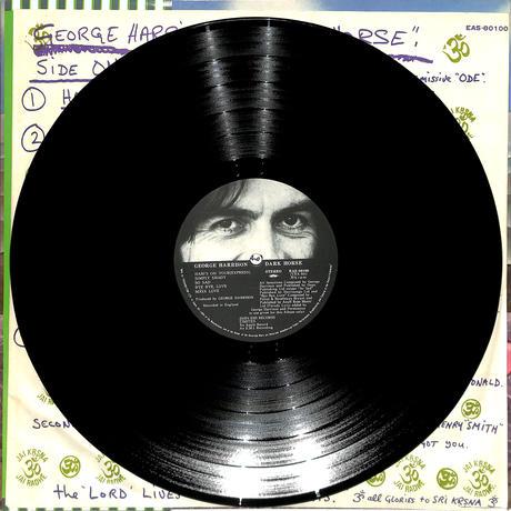 ジョージ・ハリスン / ダークホース(LPレコード)
