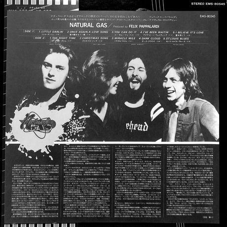 ナチュラルガス / NATURAL GAS(LPレコード)