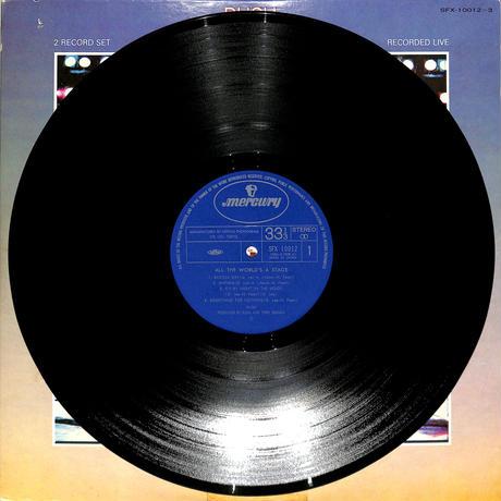 ラッシュ / 世界を翔けるロック(LPレコード)
