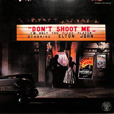 エルトン・ジョン / ピアニストを撃つな!(LPレコード)