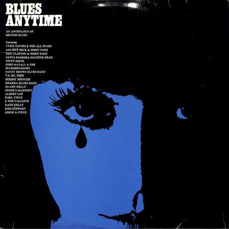 オムニバス / BLUES ANYTIME,ANTHOLOGY BRITISH BLUES(ホワイトビニール4枚組)(LPレコード)