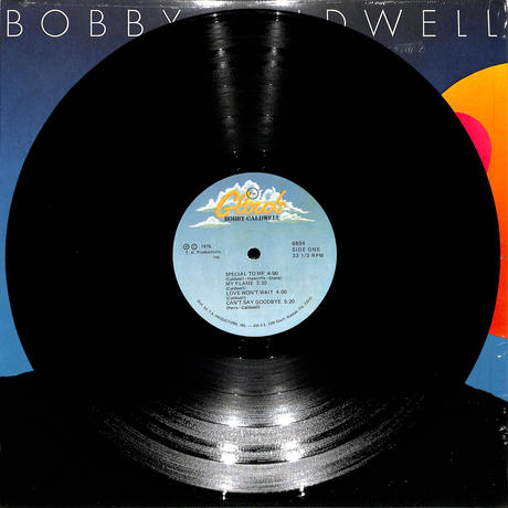 BOBBY CALDWELL / BOBBY CALDWELL(Clouds8804,US原盤,STERLING刻印)(LPレコード)