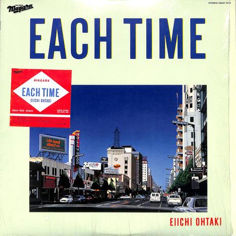 大瀧詠一 / EACH TIME (国内盤,シュリンク付)(LPレコード)