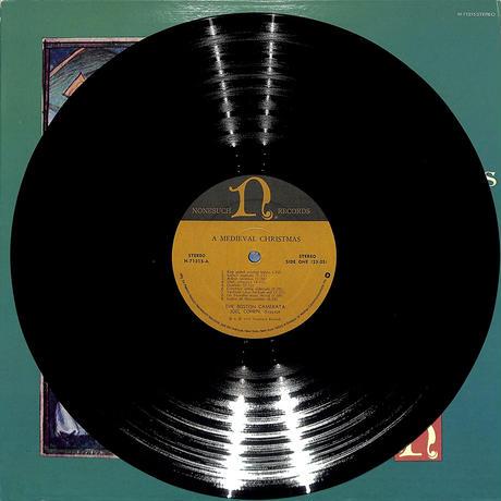ジョエル・コーエン / 中世のクリスマス(US NONESUCH ORIGINAL,H-71315)(長岡鉄男の外盤A級)(LPレコード)
