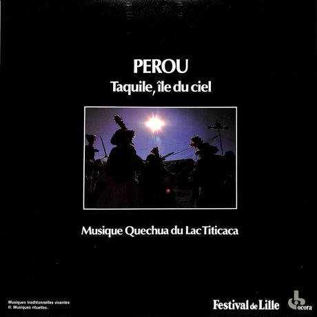 ペルー天国の島タキーレ ティカティカ湖のケチュア族の音楽(FRANCE OCORA ORIGINAL,558651)(長岡鉄男の外盤A級)(LPレコード)