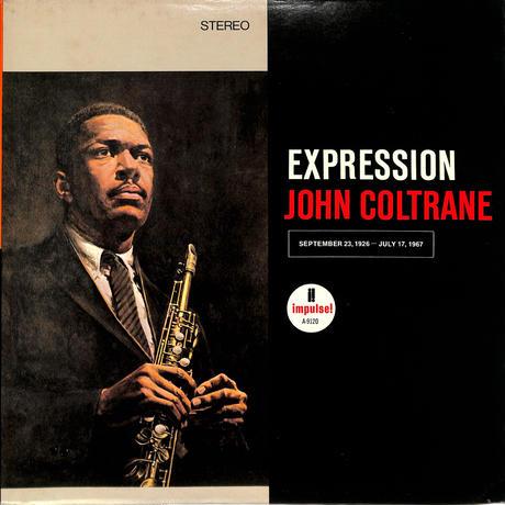 ジョン・コルトレーン / EXPRESSION(ABC IMPULSE再発)(LPレコード)
