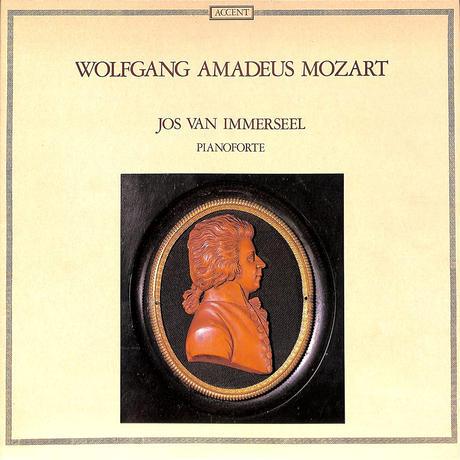 J・ヴァン・インマゼール / モーッアルト ピアノフォルテのための作品(ACCENT ORIGINAL,ACC8018)(長岡鉄男の外盤A級)(LPレコード)