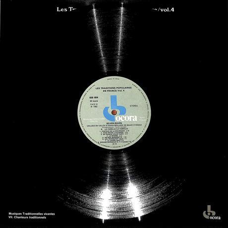 グランスの民間伝統音楽4(FRANCE OCORA ORIGINAL,558604)(長岡鉄男の外盤A級)(LPレコード)