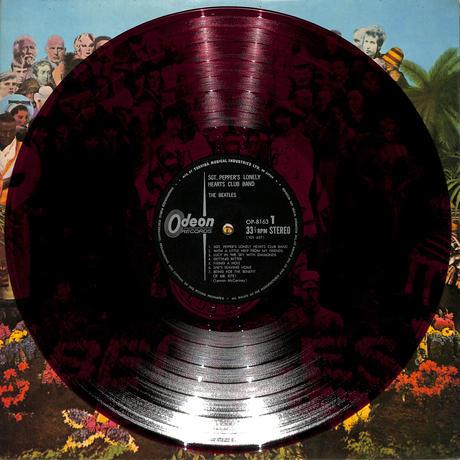 ビートルズ / サージェント・ペパーズ(赤盤,OP-8163)(LPレコード)
