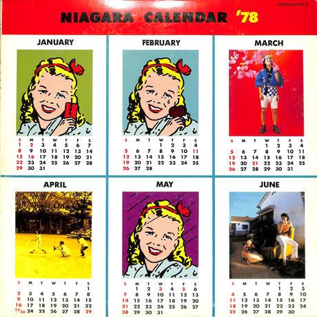 大瀧詠一 / NIAGARA CALENDER78(LPレコード)