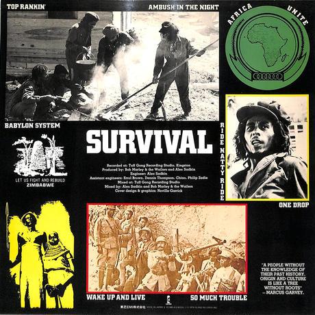 ボブ・マーリー / サバイバル(黒の生存)(LPレコード)