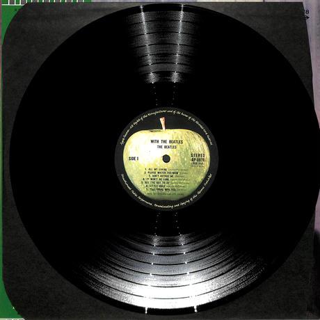 ステレオ!これがビートルズVOL.2(ウィズ・ザ・ビートルズ)(LPレコード)