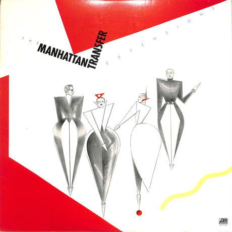 マンハッタントランスファー / Extensions (US ATLANTICオリジナル)(LPレコード)