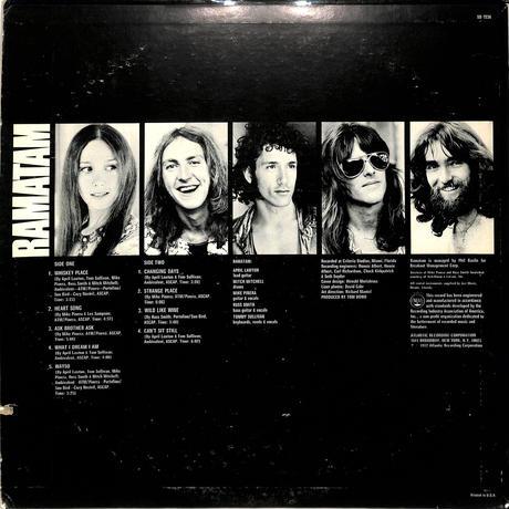 ラマタム / Ramatam(US ATLANTIC ORIGINAL,SD7236)(LPレコード)