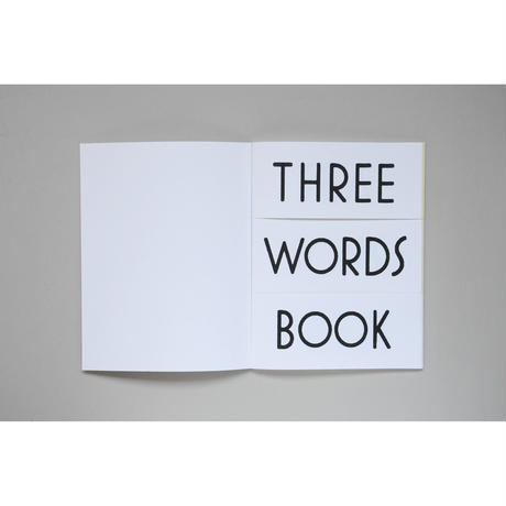 新『THREE WORDS BOOK』