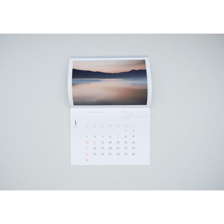 新『2021年カレンダー  River 阿賀のほとりで』髙橋ノリユキ