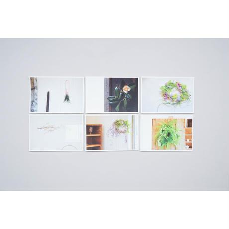 『atelier ひと葉 ポストカードセット』
