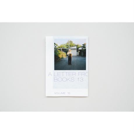 新『a letter from BOOKS f3』 vol.15
