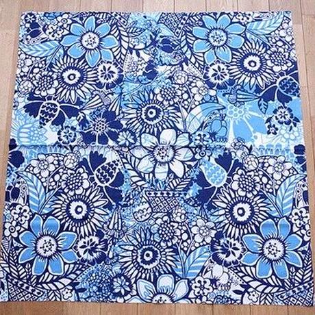 コトノワ×ヘイニ・リータフフタ 風呂敷 エル・ブルー 100×100cm 日本製