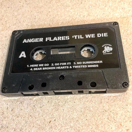 ANGER FLARES / 'TIL WE DIE (CASSETTE)