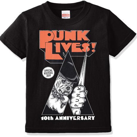 """[通販限定] PUNK LIVES! 2019 """"OFFICIAL BOOTLEG"""" T-SHIRTS [受注生産]"""