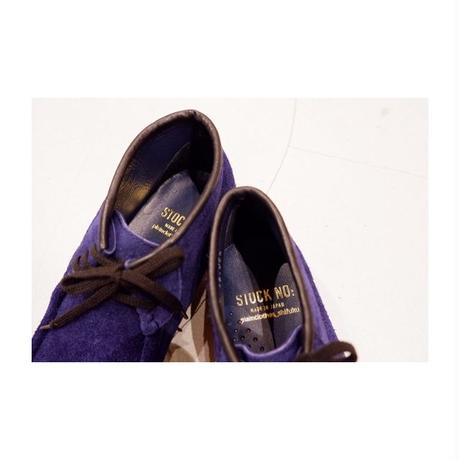 STOCK:NO(ストックナンバー)MB18_E11/plainclothes shifuku別注 NAVY 3HOLE MOCCASIN SHOES