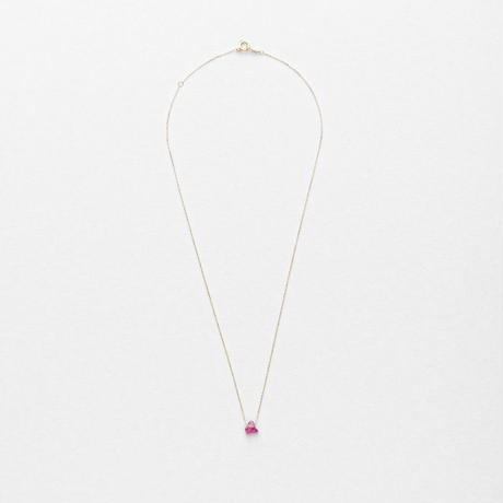 Ruby Top Necklace