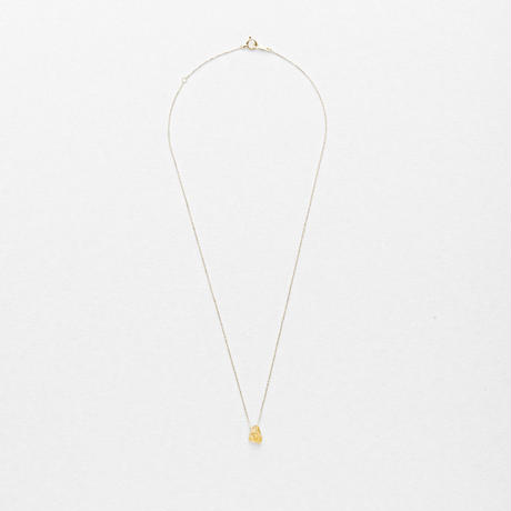Gold Grossular Top Necklace