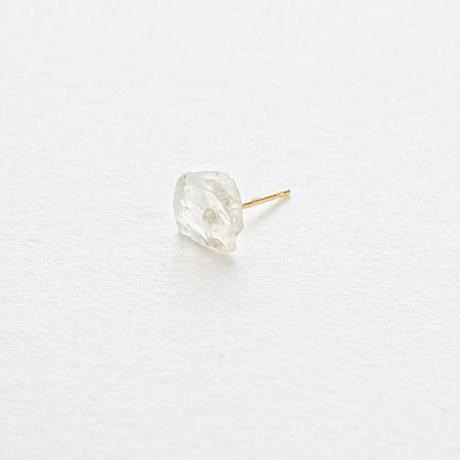 Moonstone Rock Earring