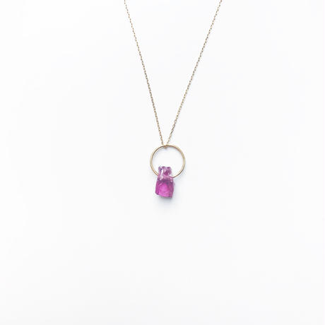 Rhodolite Baby Pendant Top (January Birthstone)