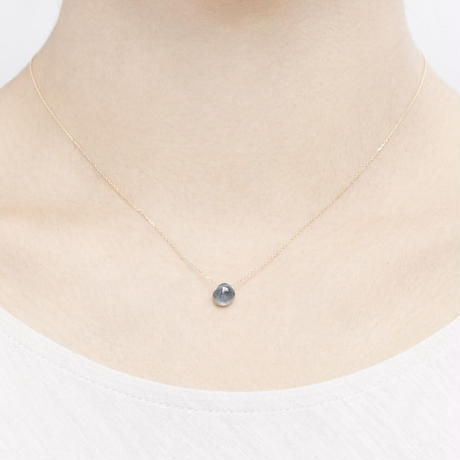 Sapphire Top Necklace