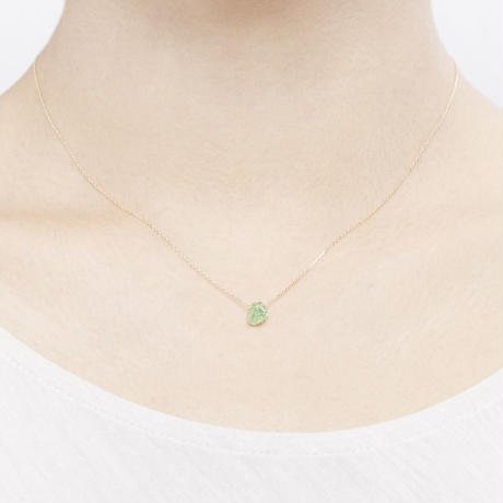 Peridot Top Necklace