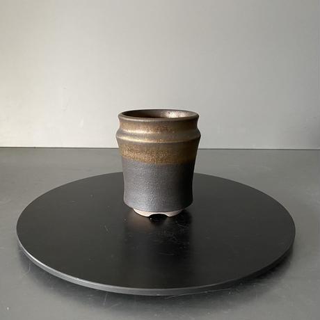 【 S.N.Pot  - horizon - 2号 】水平型  笠間焼  植木鉢  SN-12