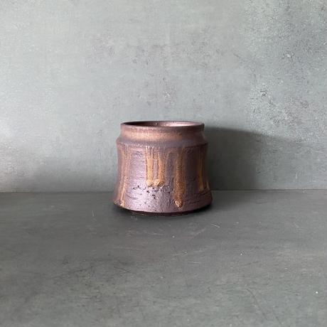 【 S.N.Pot ''土管'' - horizon - 3号 】笠間焼  植木鉢