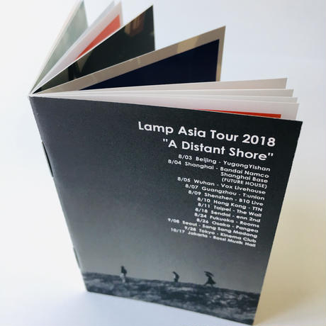 "Lamp ""A Distant Shore"" Asia Tour 2018 (CD)"