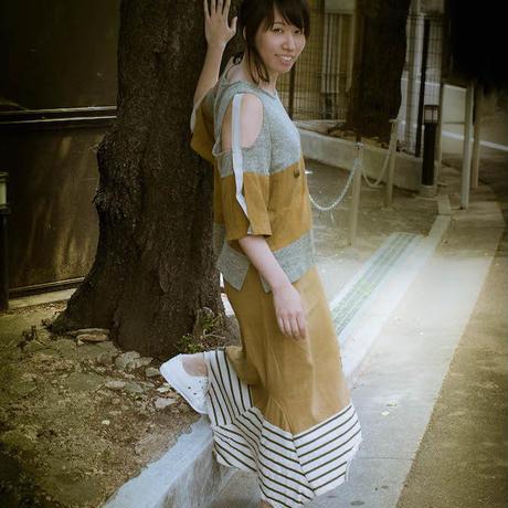 Rebirth Tee  Skirt (Green×Green)