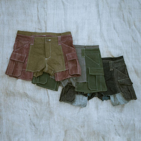Short Cargo Pant (Green)