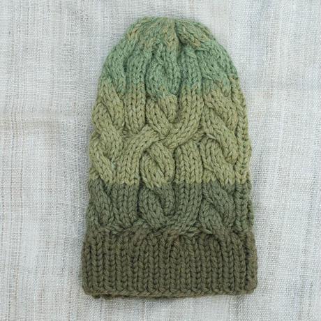 Corn Head Knit Cap (Green )