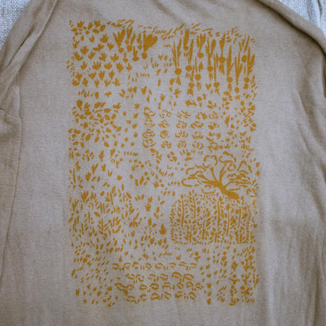 型染め/畑T-Shirt S size
