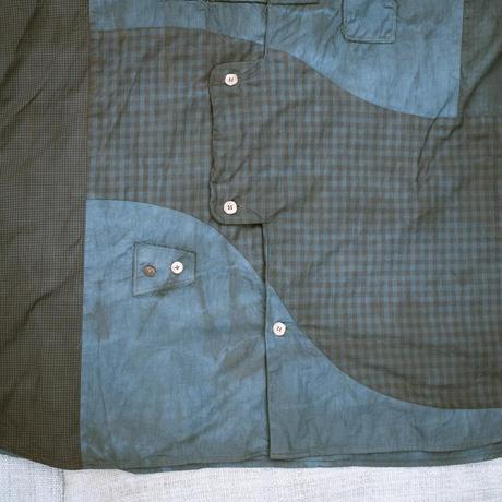 牧歌的Shirt (藍 / ミロバラン)