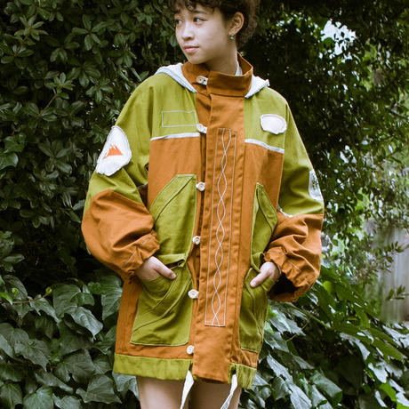 Asian Mountain Parka (Green)