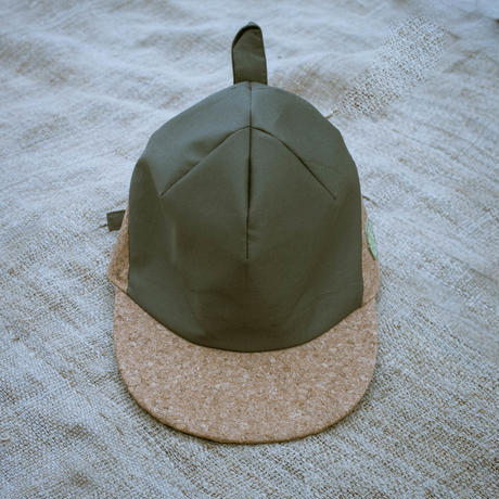 Baseball Cap ( Green ×  Cork ) / Meek Weed