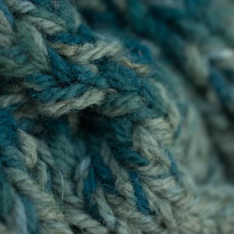 Corn Head Knit Cap (Green Blue))