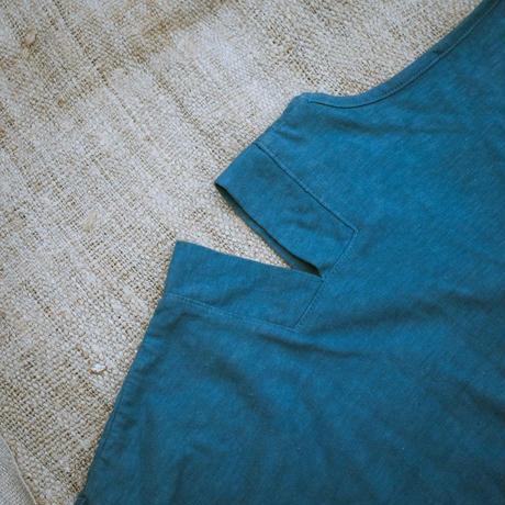 型染め / Oversize T-shirts (House & Door/Indigo)