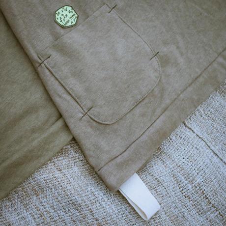 Den-en T-shirt (Khaki) / Meek Weed